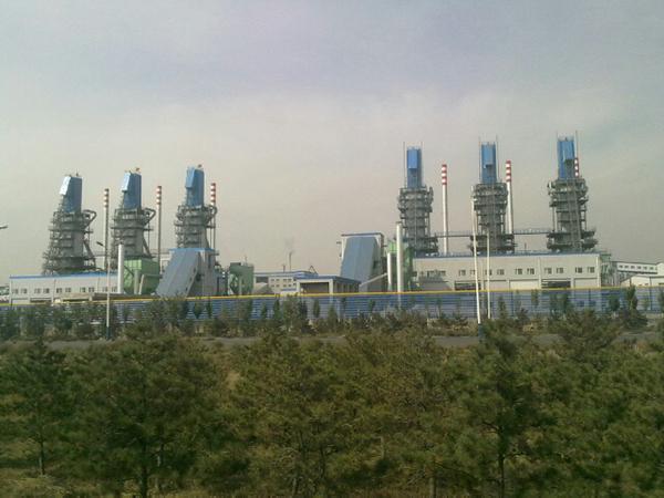 鄂尔多斯氯碱化工100万吨配套双梁式石灰窑