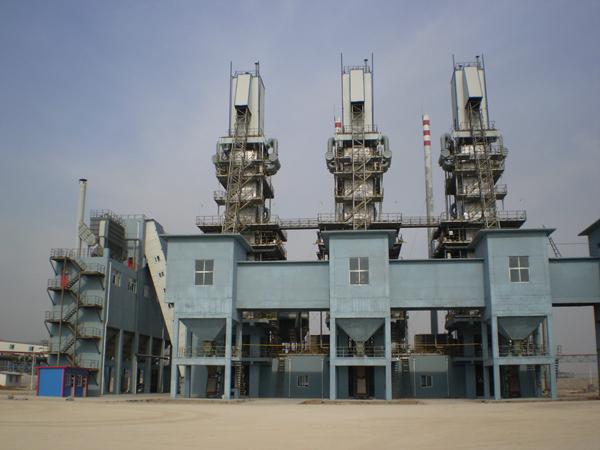 山东莱钢石灰窑项目
